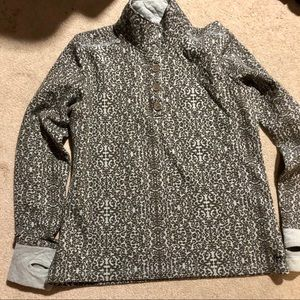 Kavu XL pull over army green & gray